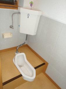 和式トイレから洋式トイレへとリフォーム☆助成金がもらえたらよかったのに。。。
